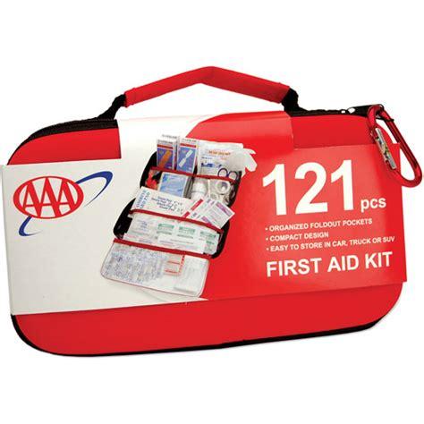 kits walmart aaa road trip aid kit 121pc walmart