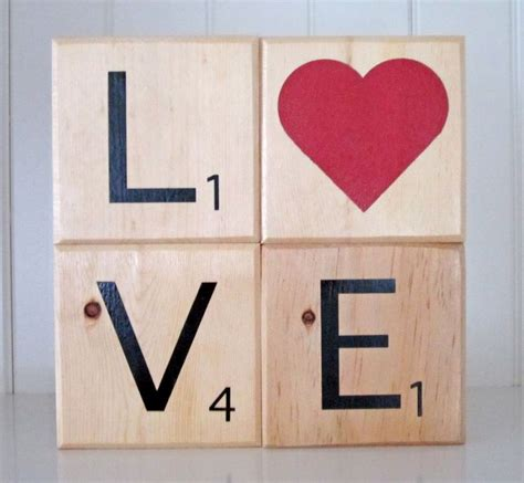 17 Best Ideas About Wooden Scrabble Tiles On