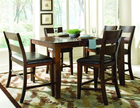 dining table pub style dining table