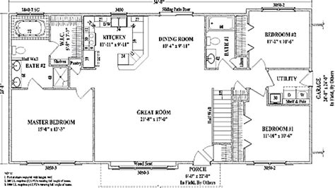 ranch style homes with open floor plans wonderful bedroom ranch house plans open floor r plans open floor plan ranch awesome floor plans