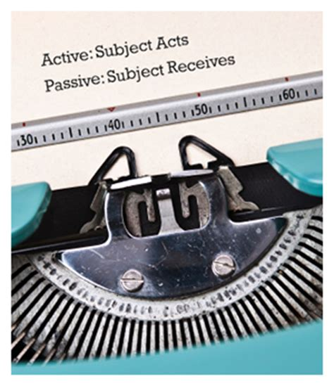 passive or active voice which should you use