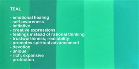 teal color meaning use color meanings and symbolism in unique gift giving