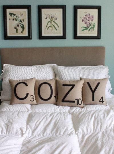scrabble lit une d 233 co romantique pour votre chambre bricobistro