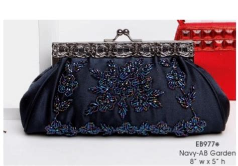 navy beaded clutch pin by mariann lifwergren on into the rainbow blue