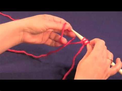 backward loop knitting the backward loop cast on