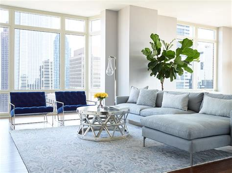 gray living room chair gray sofa with chaise lounge and blue velvet accent chairs