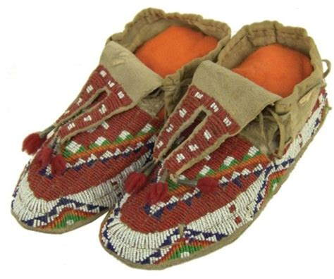 beaded moccasins and sioux beaded moccasins moccasins