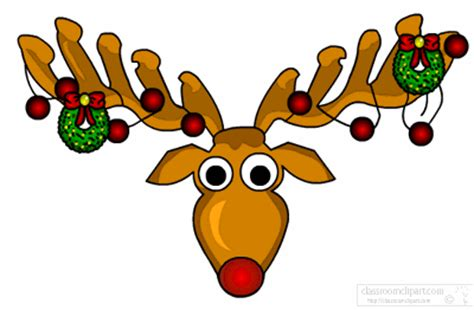 animated reindeer lights animated clipart reindeer with lights animated