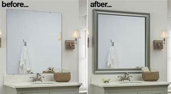 how to frame bathroom mirrors bathroom mirror frames 2 easy to install sources a diy