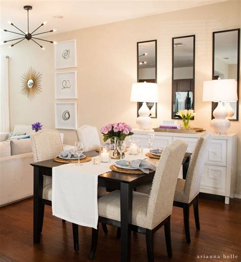 decorating a dining room 25 best ideas about dining room mirrors on
