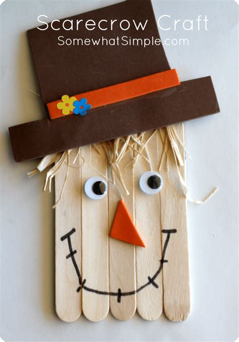 scarecrow craft for scarecrow craft a and easy project to do with