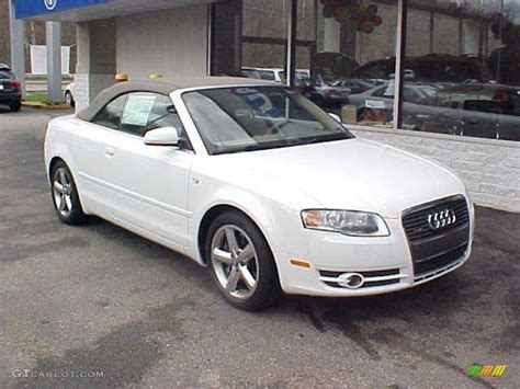Audi A4 3 2 by 2008 Ibis White Audi A4 3 2 Quattro Cabriolet 7790501