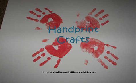 handprint crafts for handprint crafts