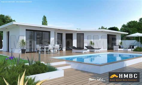 Ellea 150 Maison Moderne Et Contemporaine De 150m2 Maison Contemporaine Toit Plat Tarif