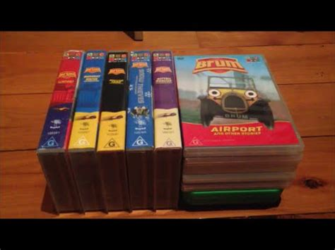 my brum vhs and dvd collection