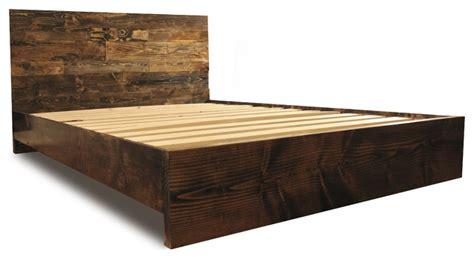 cal king platform bed frame platform bed frame and headboard set walnut