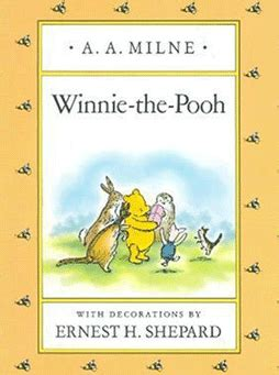 winnie the pooh picture book winnie the pooh book cover