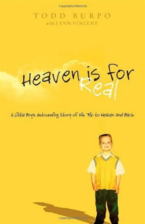 Review Heaven Is For Real By Todd Burpo Carla Acheson