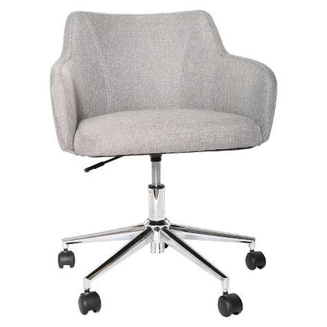upholstered desk chair grey room essentials target