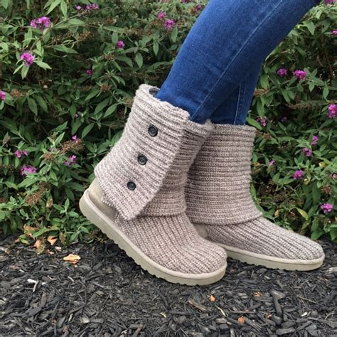 knit boots for sale knitted ugg boots on sale