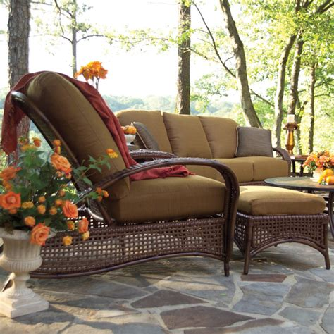 tuscany patio furniture tuscany seating wicker patio set summer classics family leisure