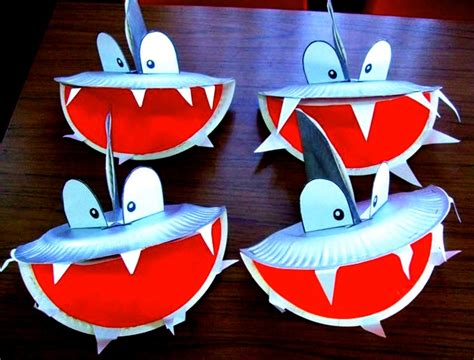 easy shark crafts for shark crafts