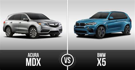 Bmw Vs Acura by Acura Mdx Vs Bmw X5