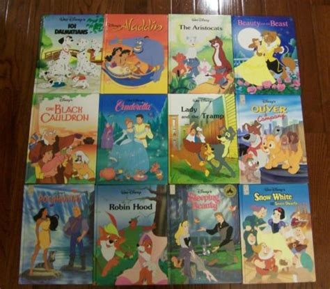 disney picture books lot of 12 disney classic sereis hardcover mouse works