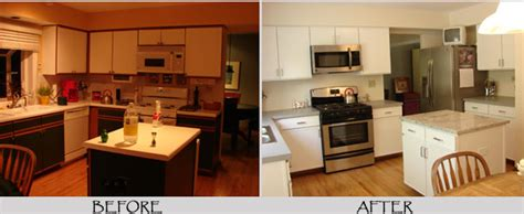 chalk paint laminate kitchen cabinets painting formica cabinets before and after pictures