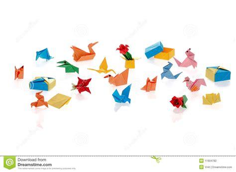 tiny origami tiny origami stock photography image 11904782