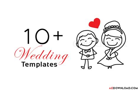 15 top wedding after effects templates free download