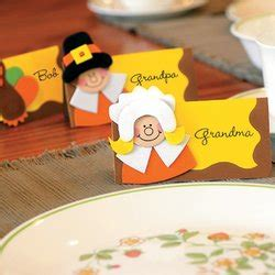 thanksgiving craft kits for thanksgiving place card craft kit for 12 guests only 9 95