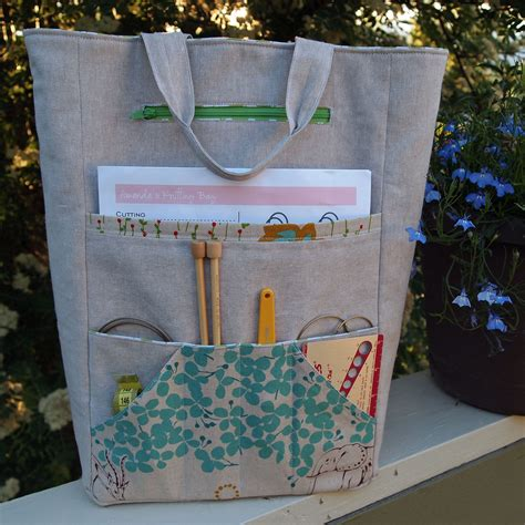 sewing pattern for knitting project bag purse palooza pattern review the sometimes crafter