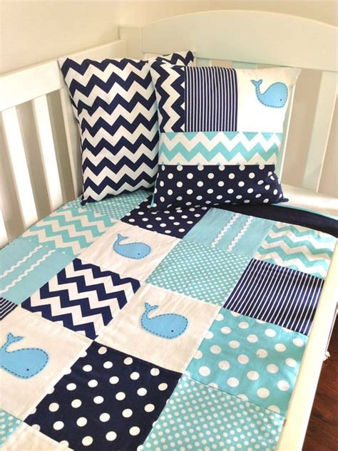 whale crib bedding sets whale baby quilt set baby boy crib quilt and two cushion