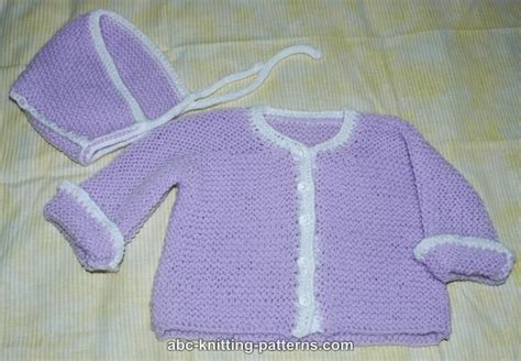 easy baby sweater knitting pattern abc knitting patterns easy garter stitch baby cardigan