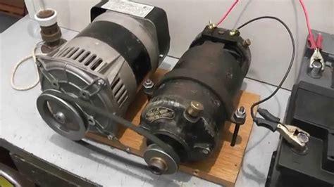 Electric Motor Generator by Motor Generator