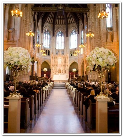 church decorating ideas for aisle church wedding decorations 99 wedding ideas