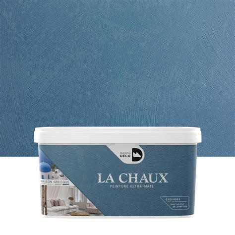 peinture 224 effet la chaux maison grecque maison deco cyclades 2 5 l leroy merlin