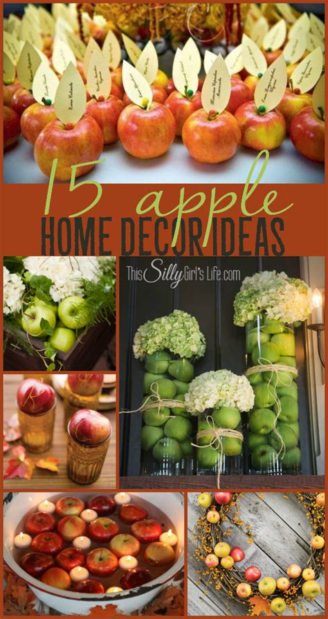 apple home decor 15 apple home decor ideas this silly s kitchen