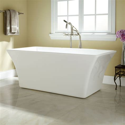 bathrooms with freestanding tubs draque acrylic freestanding tub bathroom