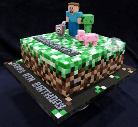 cake craft for you to see minecraft cake by rosedreamcakes
