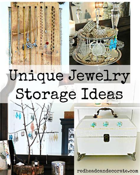 jewelry storage ideas diy rustic jewelry display
