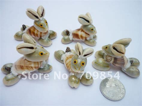 shell craft for free ship sale rabbit shell crafts for home