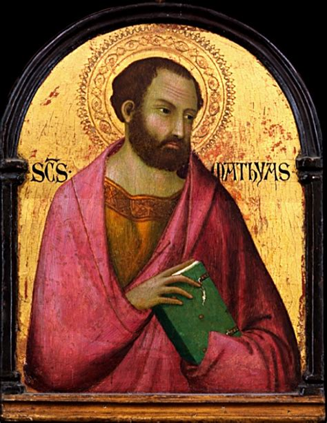 picture book of saints matthias