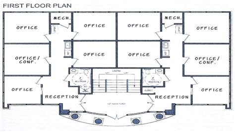 small office floor plan small commercial office building plans commercial building