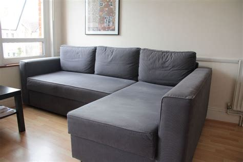 corner sofa beds ikea ikea manstad corner sofa bed with chaise longue and