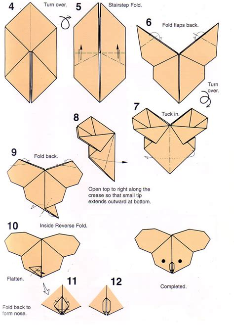 origami step by step schematic diagram free schematic get free image