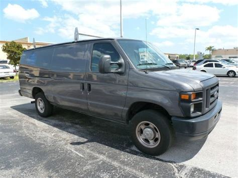 how do cars engines work 2005 ford e250 spare parts catalogs buy used 008 ford e250 cargo van needs engine work in pompano beach florida united states