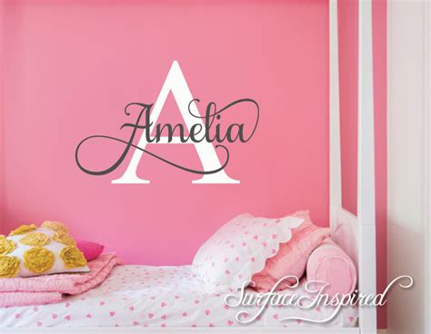 nursery wall name decals nursery wall decal personalized names wall decals for