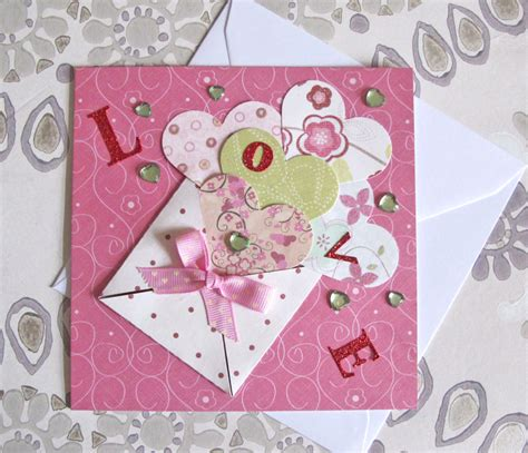 how to make letter card craft challenge valentines card hobbycraft